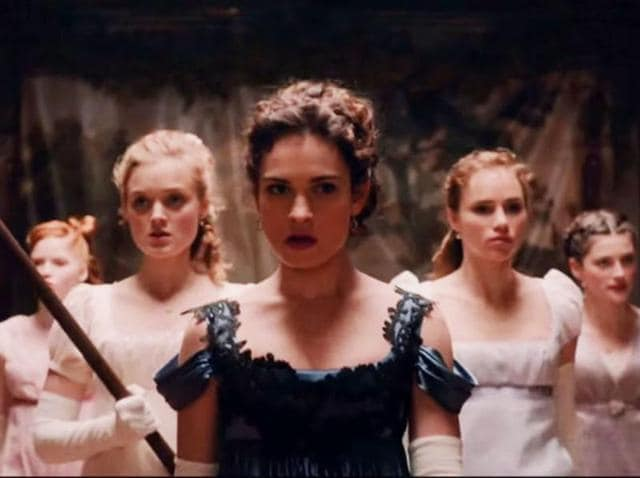 The Bennet sister battle the undead.