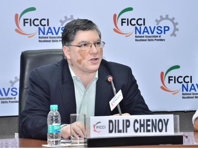 Dilip Chenoy resigned from the position of the CEO and MD of NSDC on Friday.