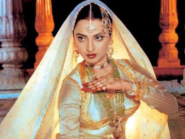 Rekha in a still from Umraao Jaan.