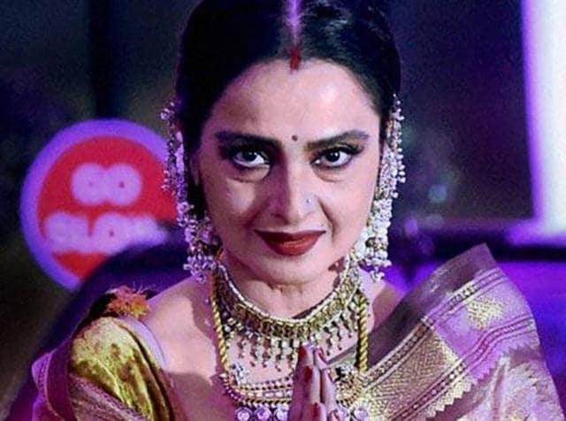 Rekha turns 61 on Sunday.