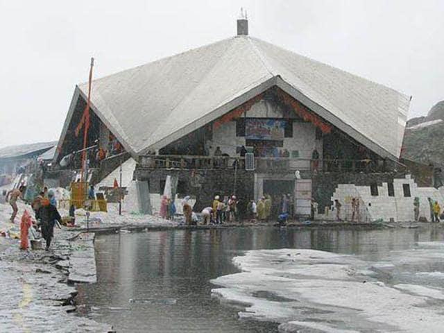Hemkunt Sahib,Sikh shrine,Garhwal himlayas