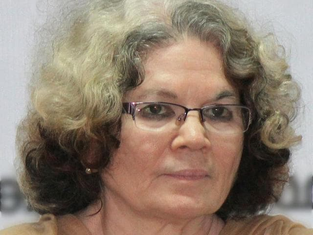 "Malayalam novelist Sarah Joseph on Saturday returned her Sahitya Akademi award in protest against the alleged ""stifling of free thinking and trampling of democratic ideals""."