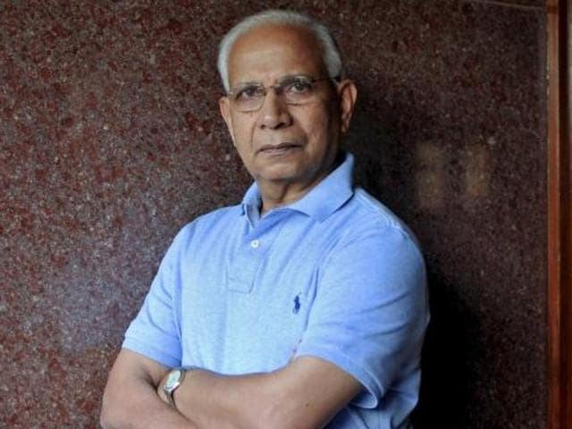 JVR Prasada Rao, United Nations special envoy for AIDS in Asia and the Pacific, poses inside his residence in Bengaluru.