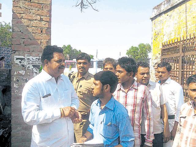Dalits,Land dispute,Dankaur