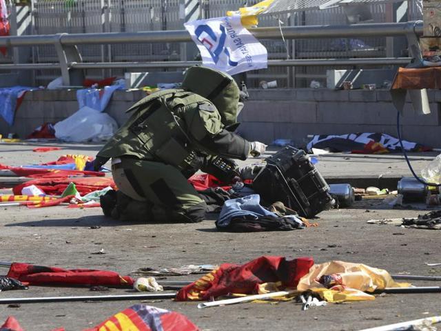 Turkey,Explosions,Suicide attack