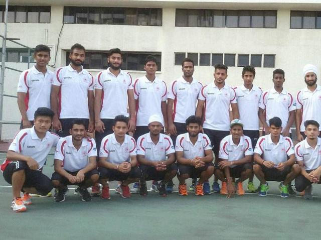 Indian Junior hockey team
