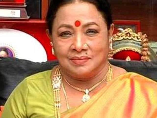 Tamil actress Manorama