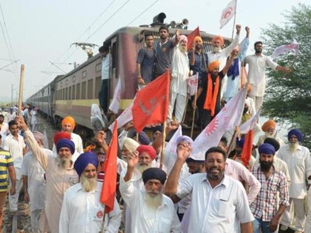 Rail roko,Farmers' agitation,BKU