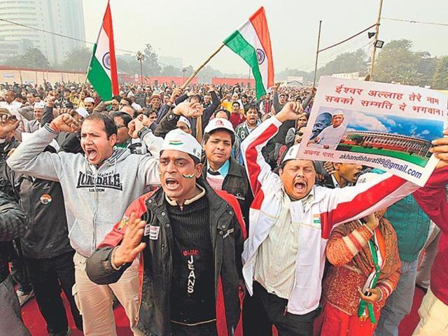 Lokpal law,Anti-corruption movement,Civil servants