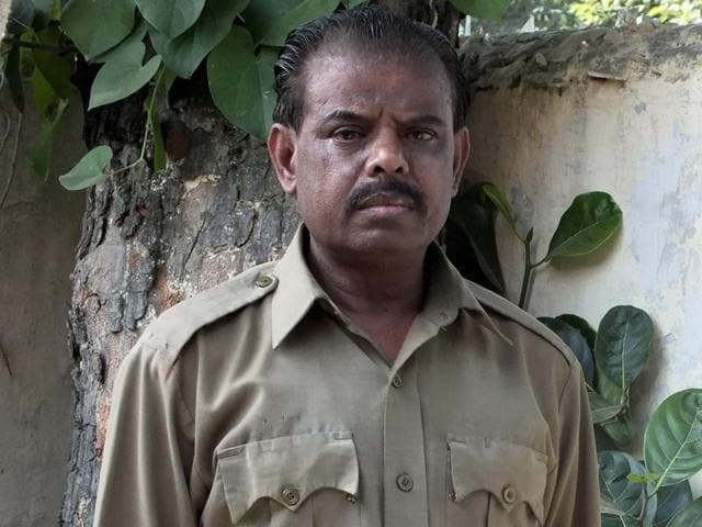 Sudhir Hamilton, Asiatic lion zookeeper at the Chhatbir zoo.