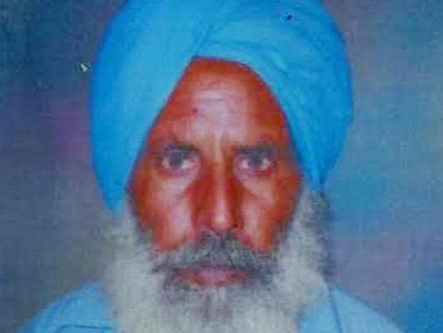 A file photo of farmer Jagdev Singh. This is the fifth incident of farmer suicide in the district in 18 days.