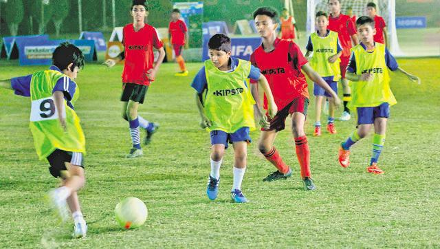 Since HT GIFA is not restricted to the capital, parents in the NCR region too get to watch their kids excel on the field.