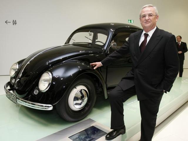 Martin Winterkorn,Volswagen,Pollution emission