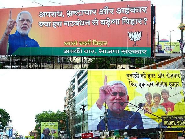 Bihar assembly polls 2015,Battle for Bihar,Opinion polls on Bihar elections