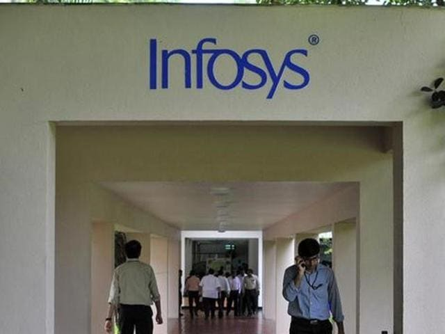 Infosys on Monday reported a 9.8 % rise in consolidated net profit to Rs 3,398 crore and 17.2 % growth in consolidated revenues (to Rs 15,635 crore) for the July-September 2015 quarter.