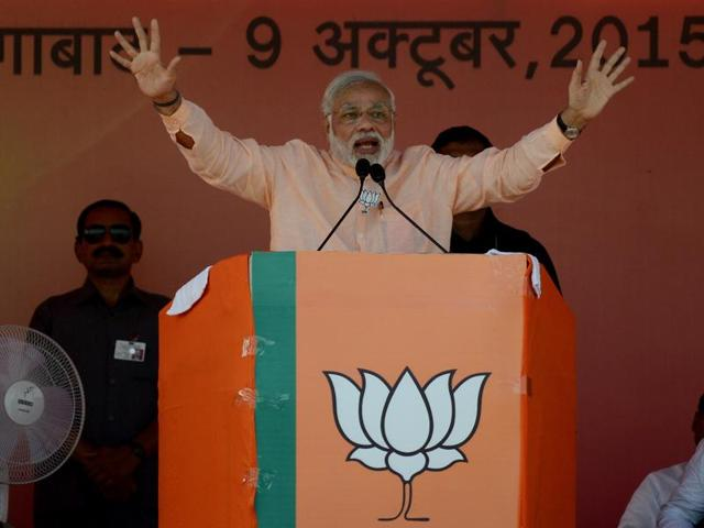 "Prime Minister Narendra Modi on Monday attacked rivals Nitish Kumar and Lalu Prasad, accusing them of ""insulting"" the legacy of Jayaprakash Narayan, who fought against corruption."