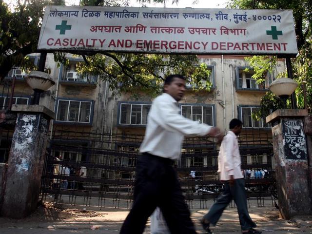 Sion hospital, Mumbai.