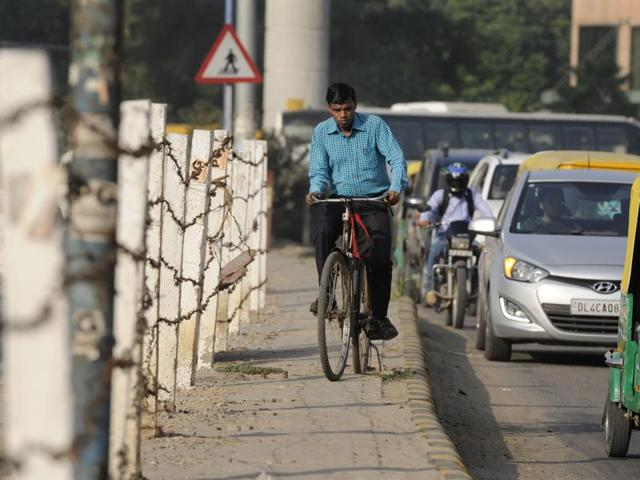 The idea for New Delhi's first car-free day came from the Aam Aadmi Party government.