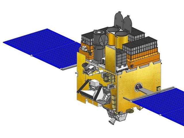 Astrosat 3-D view(ISRO)