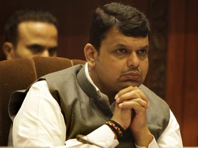 Maharashtra CM Devendra Fadnavis at a seminar in Mumbai.