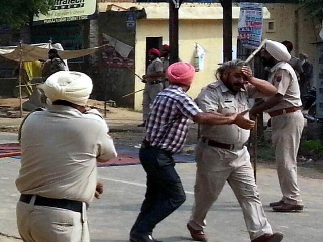 Desecration of bir,Tension in moga,Faridkot