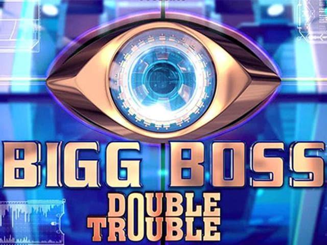 Salman Khan and Elli Evram perform at Bigg Boss 9 premiere.