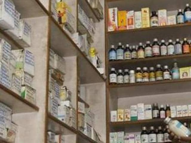 Even as the health officials claimed that the chemists' strike on Wednesday in which all 600-odd shops in the district downed shutters did not have any adverse impact on health-care facilities, the common man was caught unawares as some could not buy their medicine.