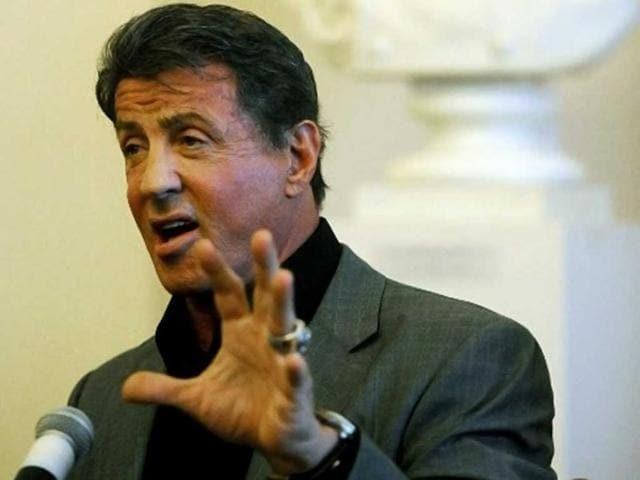 Sylvester Stallone,Sage Stallone,Sylvester gets shradh done
