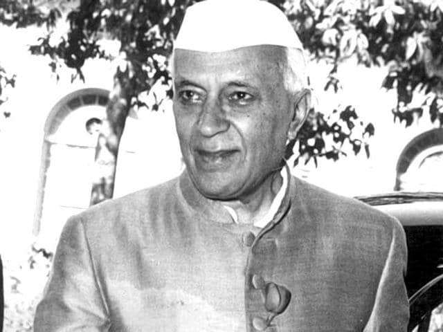 File photo of former Indian prime minister Jawaharlal Nehru.