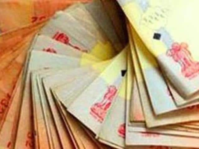 The rupee had fallen by 43 paise to close at 65.18 against the American currency on persistent dollar demand from banks and importers.