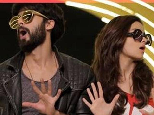 Shahid Kapoor,Alia Bhatt,Raita Phail Gaya