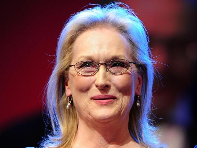 A file photo of US actress Meryl Streep. She will be heading the jury at Berlin film festival.