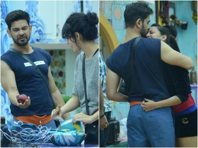 In Thursday's episode, Rochelle Rao and Mandana Karimi are seen fighting over Rochelle's boyfriend and Mandana's partner in the game - Keith Sequeira.