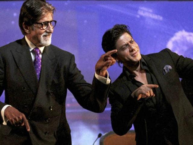 Who's the 'worst worst' dancer? Check out Amitabh Bachchan and Shah Rukh Khan's moves and decide for yourself.