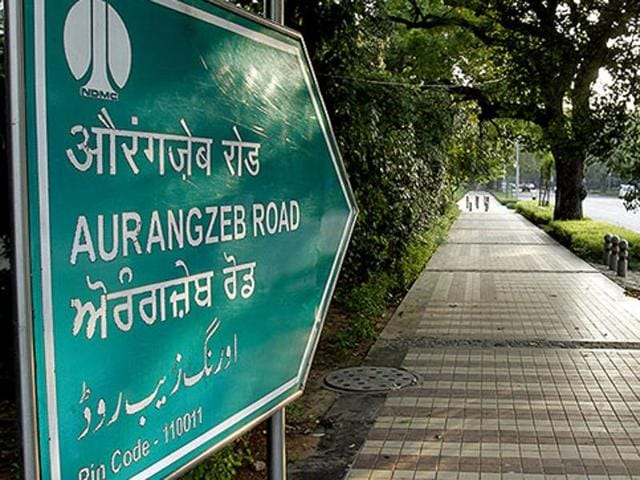 The Delhi government had decided to rename the Aurangzeb Road in the heart of the national capital after APJ Abdul Kalam to honour the former President.