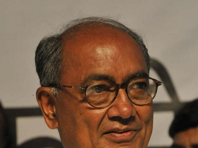 A case was registered against Digvijaya Singh, former speaker Sriniwas Tiwari and 17 others earlier this year.