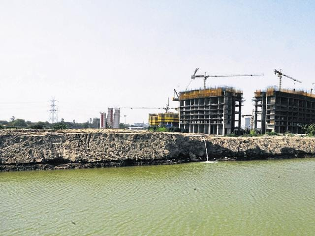 Extraction of groundwater for any purpose is banned in Noida.