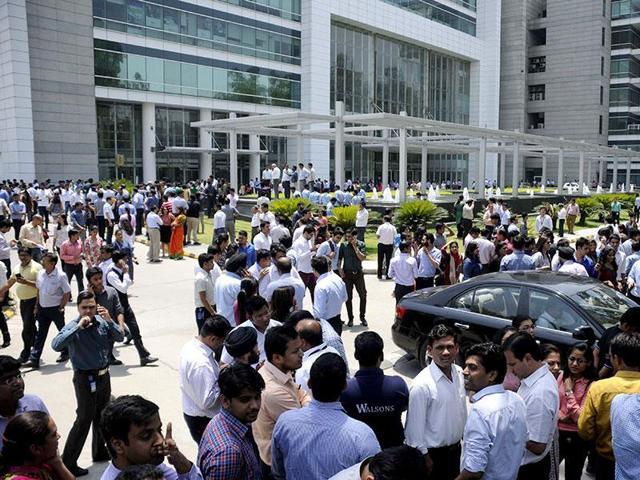 Gurgaon,disaster management,earthquake
