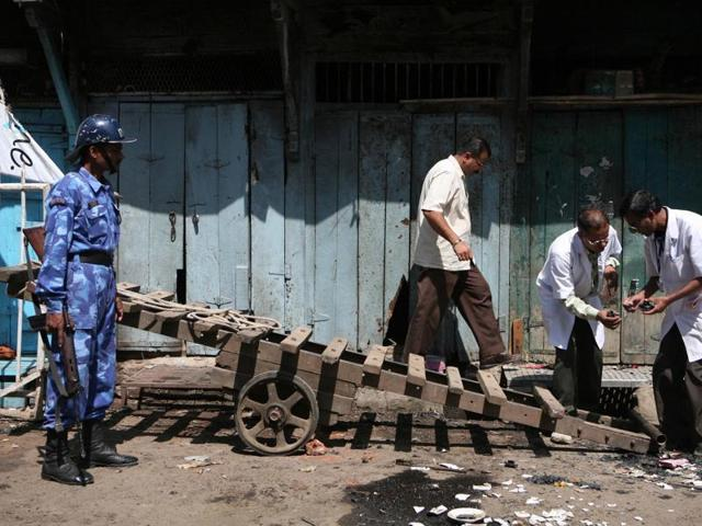 On September 29, 2008, a bomb attached to a motorcycle went off in Malegaon killing six people and injuring 101.