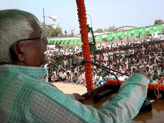 Lalu,Bihar polls,election commission