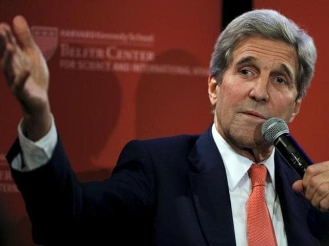 Attempts by Kerry in 2013 to broker a peace accord collapsed last year, and although he has continued to talk to both sides, he has not tried to resume negotiations on a two-state solution.
