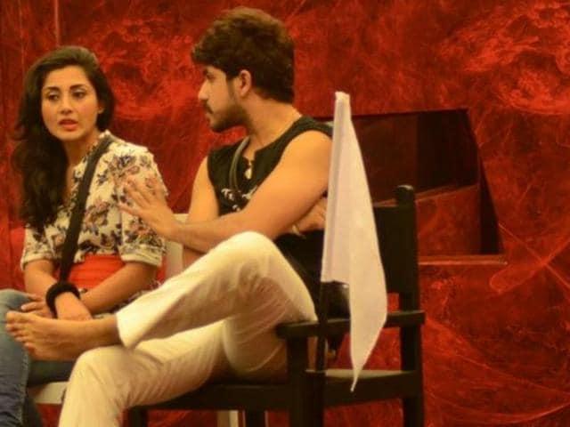 Suyash Rai and Rimi Sen in Bigg Boss 9.