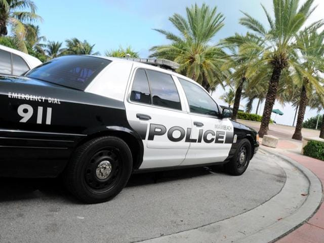 US police,Miami,Arrest held for sex