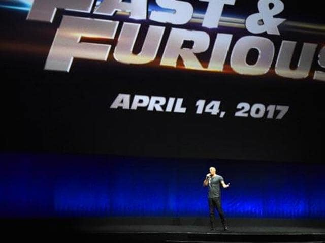 Vin Diesel will take the crew to New York for the eight instalment of the Fast & Furious series.