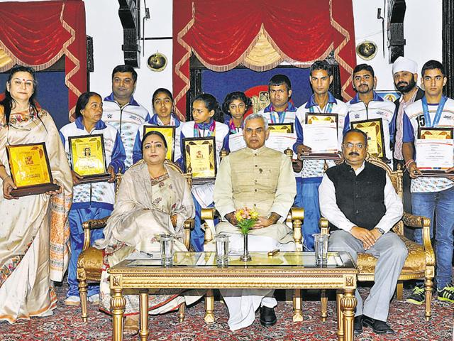 """""""These special children are an inspiration to everyone as they have faced challenges with determination and hard work and have won accolades for their talent,"""" the governor said."""