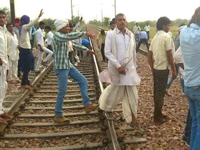 Raje govt,Gujjar quota,Gujjar protests