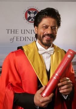 Shah Rukh Khan,Farida Khanum,Justin Trudeau