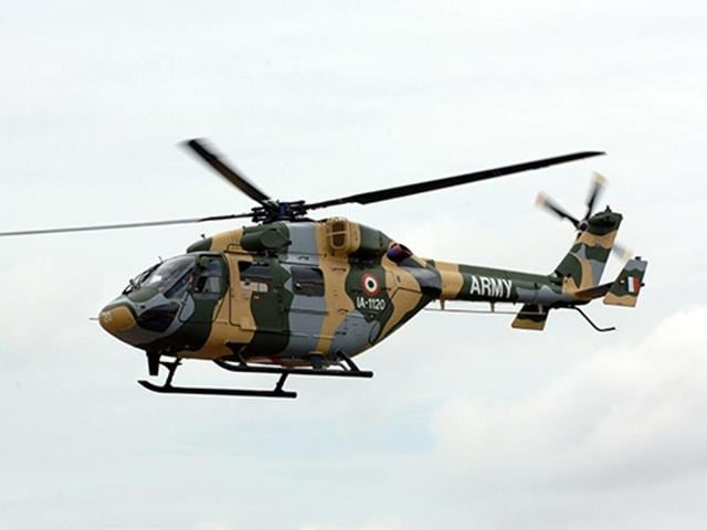 HAL,Fernando Cordero,Dhruv helicopters