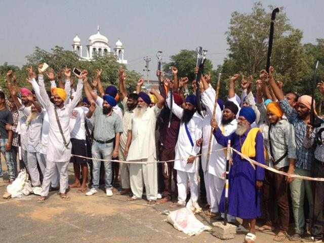 Bharatiya Kisan Union (Ughara) on Friday held a peace march at Malaudh town of Ludhiana district, claiming that it was government's tactics to divert the attention of people.