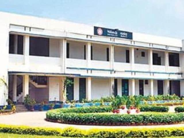 Temporary campus of the Nalanda University.